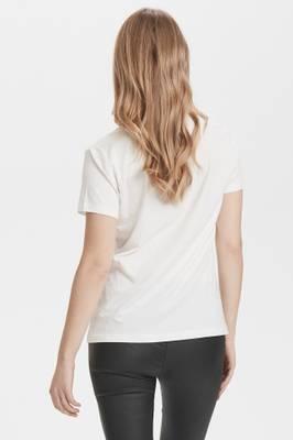 Bilde av CREAM - T-shirt Naia Chalk