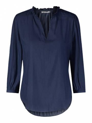 Bilde av HAUST - Perfect Blouse Jeans Blue