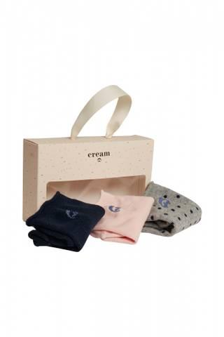 Bilde av CREAM - Sokker 3-pakk i naturlige farver