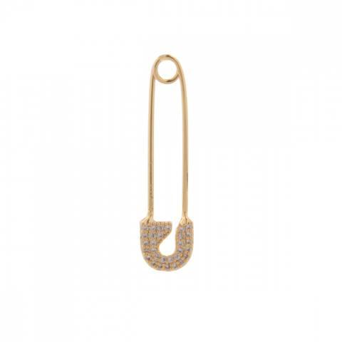 Bilde av NORA NORWAY - Pendant Ear Pin Clear