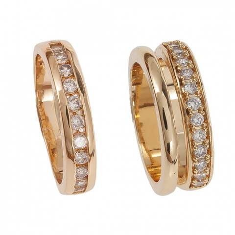 Bilde av NORA NORWAY - Medina Ring Double 18 Gold
