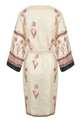 Bilde av CREAM - Sari Kimono Silk