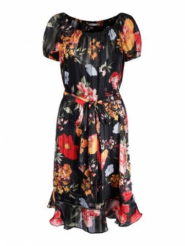 Bilde av HAUST - Lurex Flower Dress