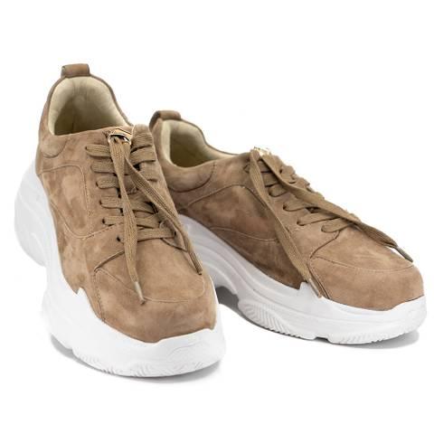 Bilde av BIBBA - Taupe Chunky Sneakers