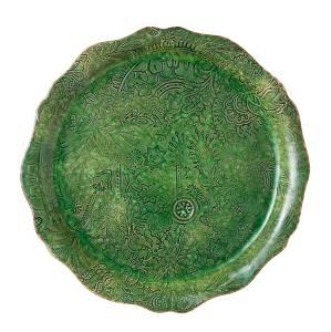 Bilde av Sthål - rundt serveringsfat / pizzafat, Seaweed