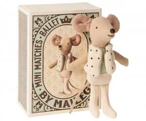 Bilde av Maileg - Danser mus i fyrstikkeske