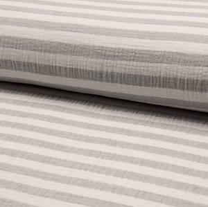 Bilde av Double gauze grå striper