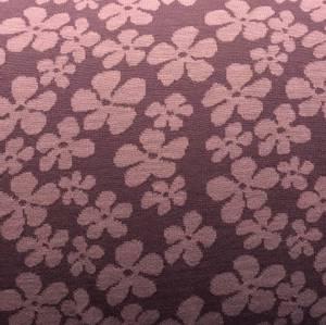 Bilde av Strikket merinoull - blomster i rosatoner