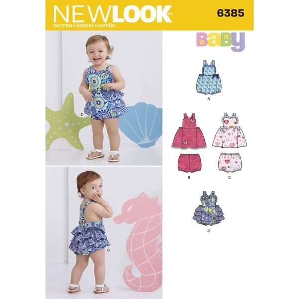 New Look 6385 Romper og bloomer