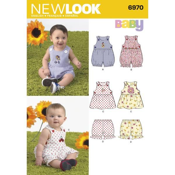 New Look 6970 Romper, kjole og bloomer
