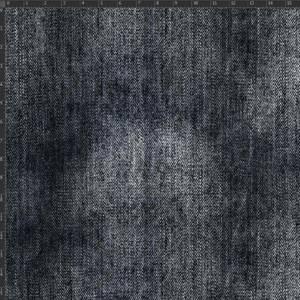 Bilde av Jersey - trykt denimmønster, mørk grå