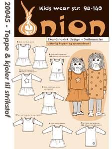 Bilde av Onion 20045 Topper og kjoler til stretchstoff