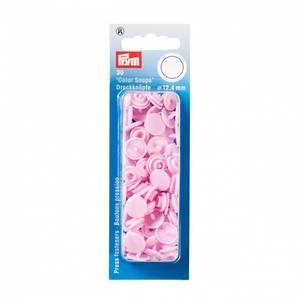 Bilde av Prym trykknapp - lys rosa
