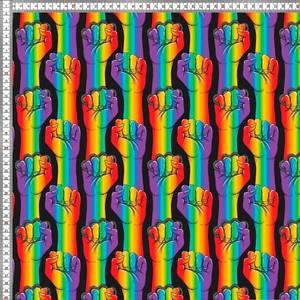 Bilde av Jersey - hender i striper regnbue