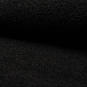 Bilde av Boucle draktstoff sort