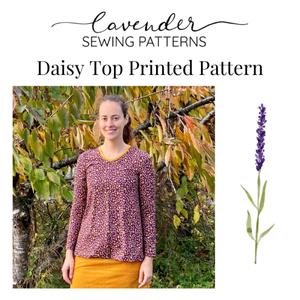 Bilde av Lavender Sewing Patterns - Daisy top