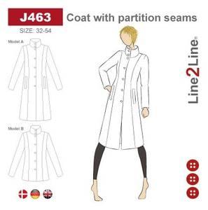 Bilde av Line2Line J463 Frakk med paneler
