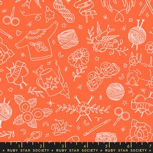 Bilde av Moda Purl - strikking oransj