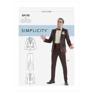 Bilde av Simplicity S9170 Kostyme dress
