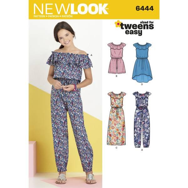 New Look 6444 Kjole, jumpsuit og romper