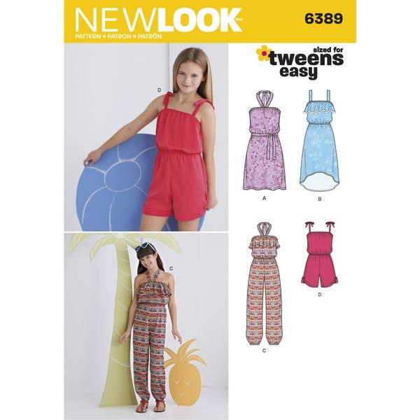 New Look 6389 Kjole, jumpsuit og romper