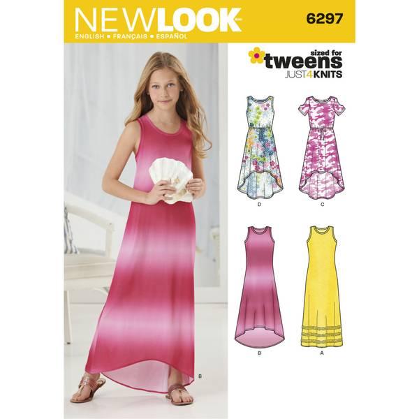 New Look 6297 Sommerlig kjole