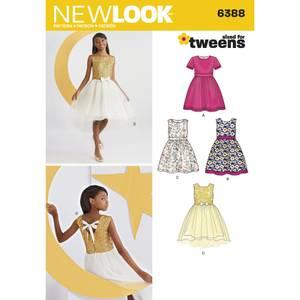 Bilde av New Look 6388 Penkjole