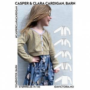 Bilde av Ida Victoria - Casper & Clara Cardigan til barn