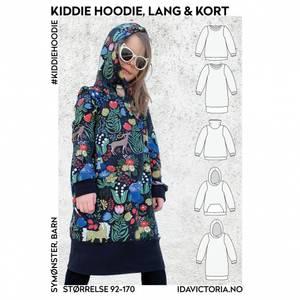 Bilde av Ida Victoria - Kiddie Hoodie, lang & kort genser til barn