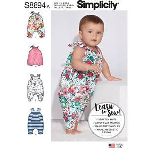 Bilde av Simplicity S8894 Baby overall