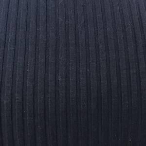 Bilde av Viskose ribbestrikket - marineblå