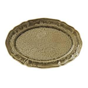 Bilde av Sthål - ovalt serveringsfat, Sand