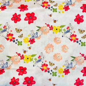 Bilde av Bomull Peter Rabbit - Blomster