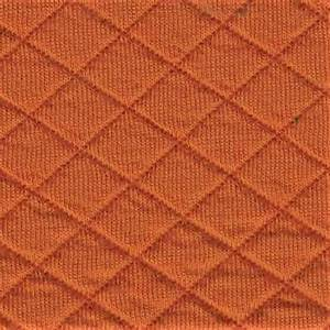 Bilde av Quiltet jersey rust orange