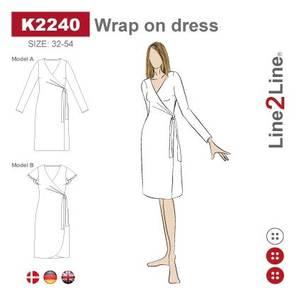 Bilde av Line2Line K2240 Omslagskjole