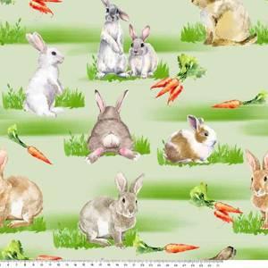 Bilde av Jersey påske, kanin med gulrot
