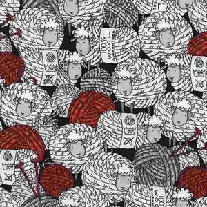 Bilde av Bomull knit - sauer og garn