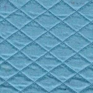 Bilde av Quiltet jersey lys klar blå