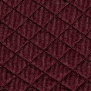 Bilde av Quiltet jersey rustrød