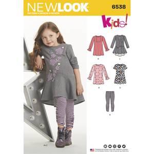 Bilde av New Look 6538 Kjole og leggings