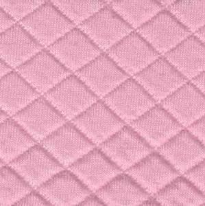 Bilde av Quiltet jersey lys rosa