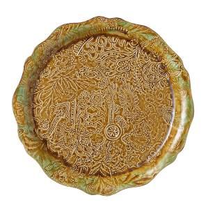 Bilde av Sthål - rundt serveringsfat / pizzafat, Pineapple