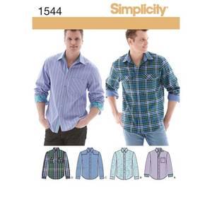 Bilde av Simplicity 1544 Skjorte til mann
