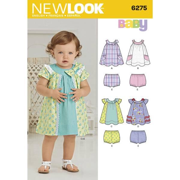 New Look 6275 Bleiebukse og kjole