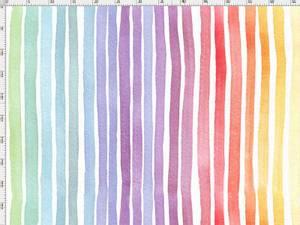 Bilde av Jersey - regnbue striper i akvarell