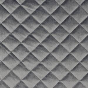 Bilde av Jakkestoff quiltet grå velour