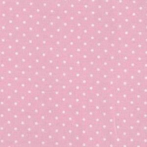 Bilde av Jersey prikker hvit og lys rosa