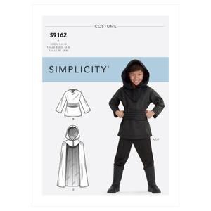 Bilde av Simplicity S9162 Kostyme til barn