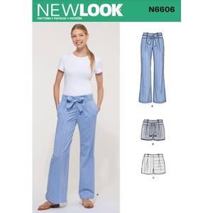 Bilde av New Look N6606 Bukser og shorts