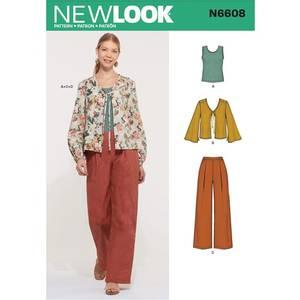 Bilde av New Look N6608 Jakke, bukse og topp